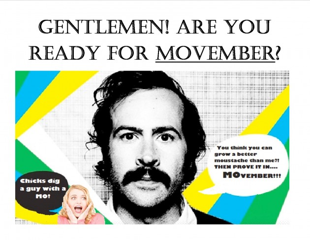9a94f1dff Chances are that everywhere you go during the month of November all you are  going to see are guys trying to grow moustaches like they are the greatest  thing ...